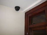 16 cameras provide security both inside and outside the apartments